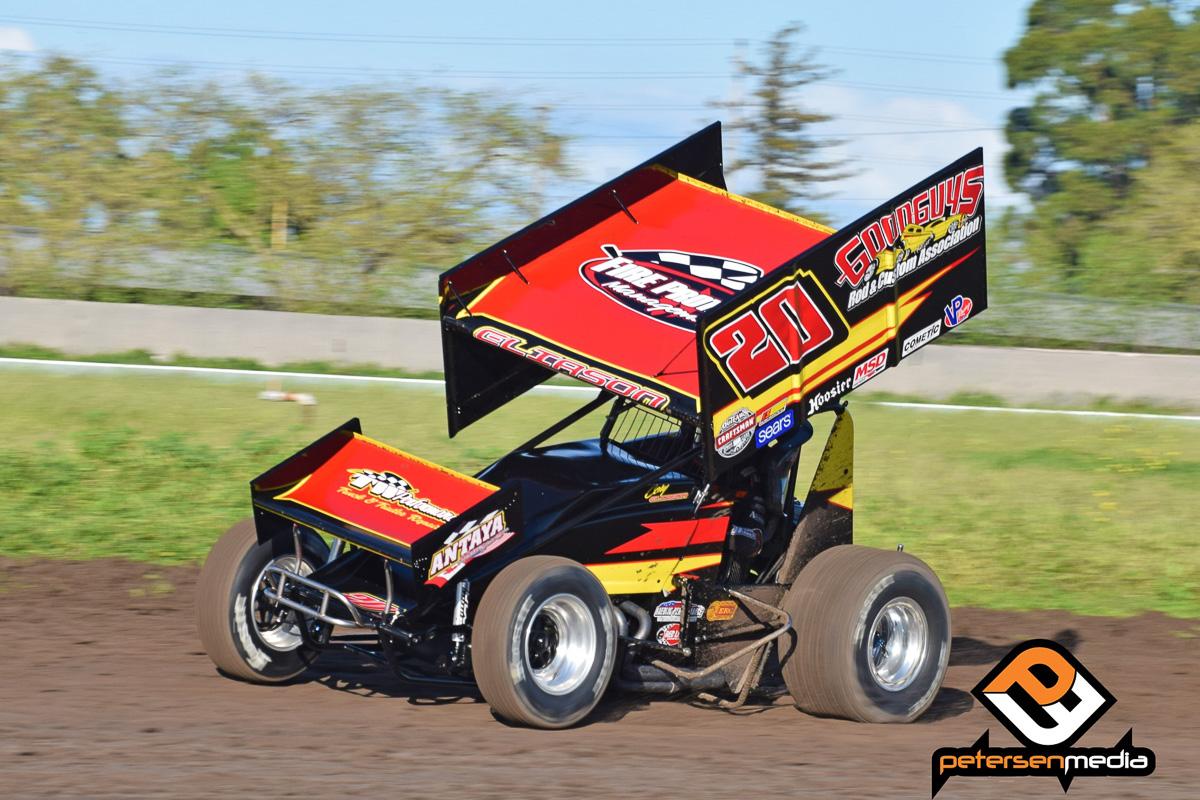 Cory Eliason Antaya Motorsports/Goodguys sprint car