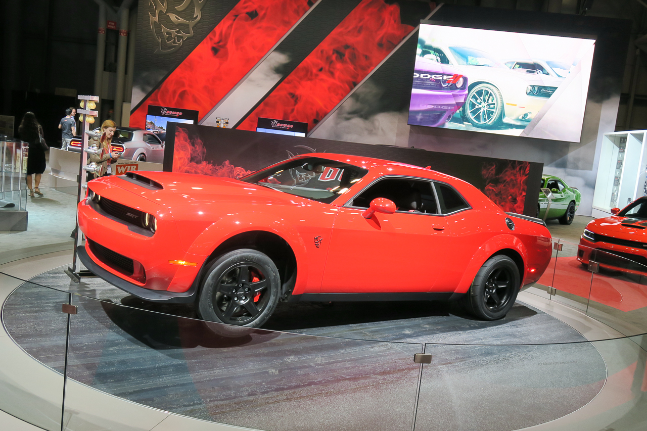 Dodge Challenger SRT Demon | 2017 NYIAS