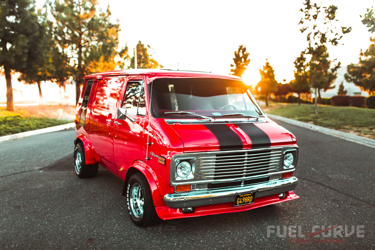 1976 g10 chevy van – four decades of full-bodied fun!, fuel curve