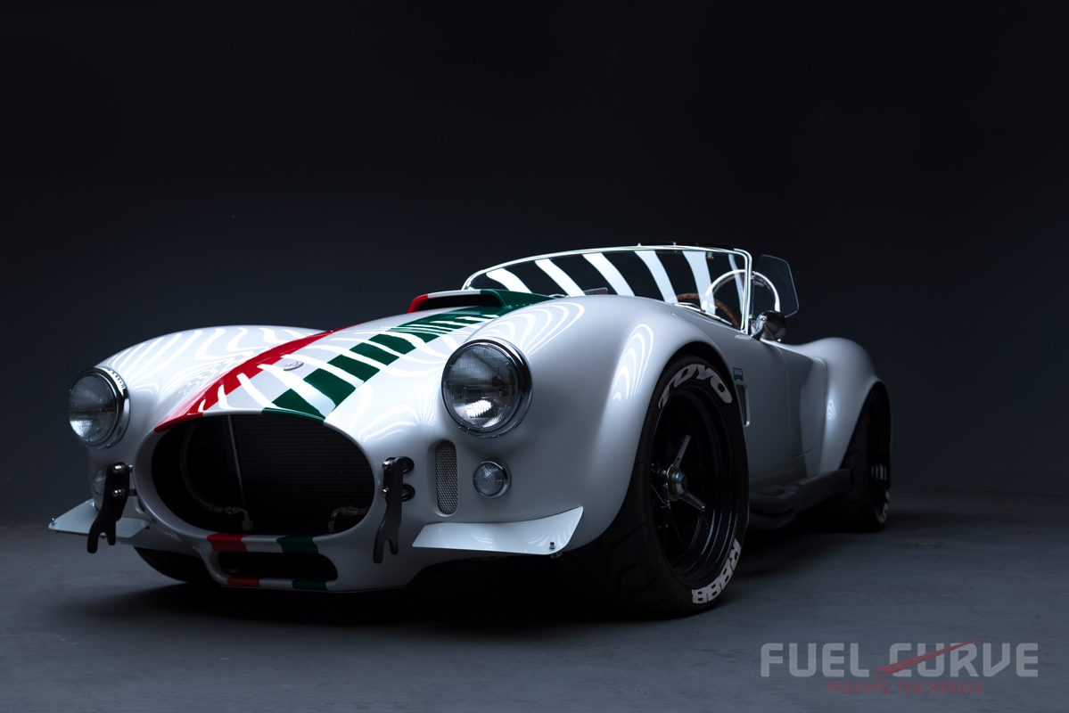 superperformance cobra - 50 year old record falls in the desert, fuel curve