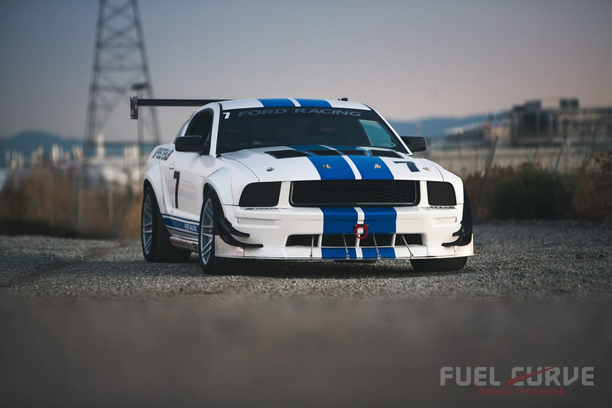 2006 Ford Mustang GT, SpecFab Racing, Fuel Curve