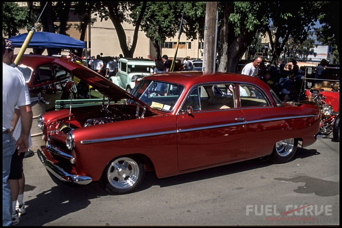 1998 Goodguys West Coast Nationals, Fuel Curve